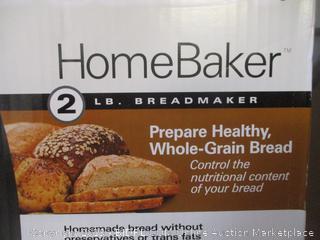 Hamilton Beach HomeBaker 2 lb bread maker