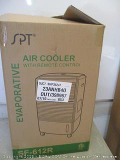 SPT evaporative air cooler with remote control