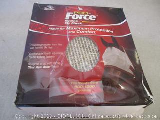 MannaPro Pro-Force equine fly mask