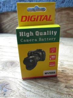 Digital high quality camera battery pack