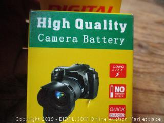 Digital high quality camera battery pack