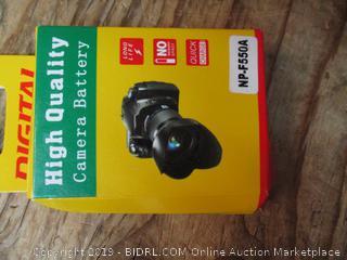Digital high quality camera battery pack - box damage