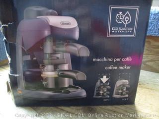 DeLonghi coffeemaker - powers on