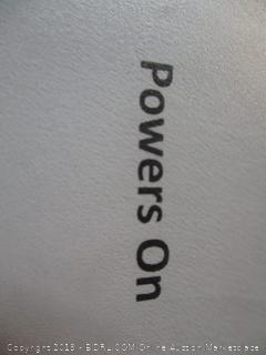 ViewSonic TV/monitor item - powers on