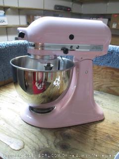 KitchenAid stand mixer - powers on