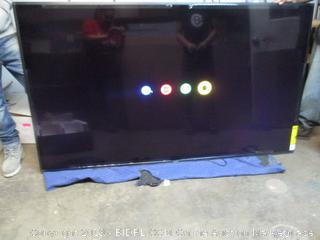 """Sony Bravia 85"""" 4K Ultra HD television - powers on"""