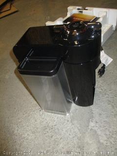 Nespresso Vertuo DeLonghi coffee machine - powers on