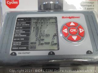 RainWave 3 zone electronic water timer