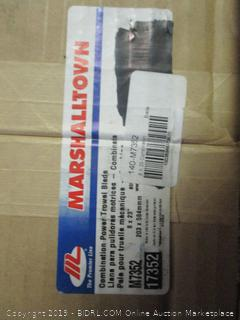 Marshalltown combination power trowel blade