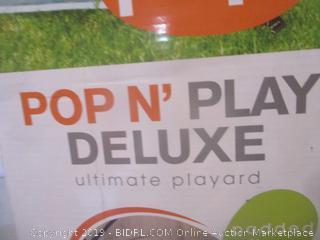 Pop n play deluxe ultimate playard