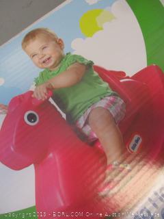little tikes rocking horse toy
