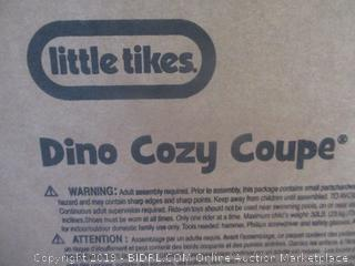 Little Tikes dino cozy coupe toy car