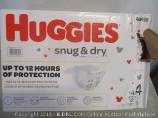 Huggies snug n dry diapers