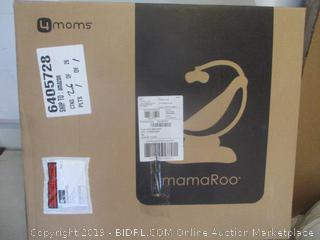 MamaRoo silver plush infant seat