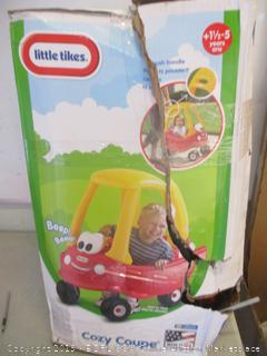 Little tikes cozy coupe toy