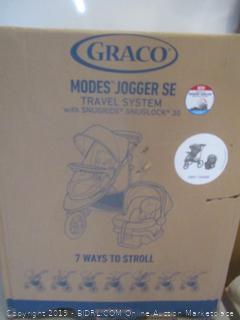 Graco modes jogger se travel system with snugride snuglock