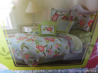 King size complete bedding ensemble