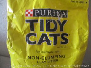 Purina tidy cats non-clumping clay litter