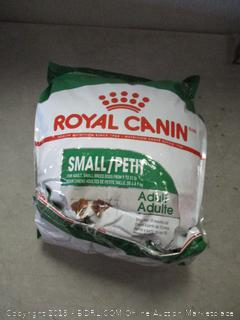 Royal Canin small breed adult dog food