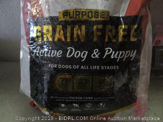 Grain free active dog and puppy food