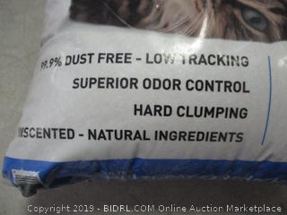 Ultra hard clumping cat litter