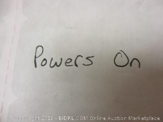 Projector - Powers On