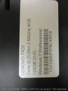 Lenovo Think Pad - Powers On