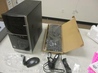 HP Pavilion 500 PC - Powers On