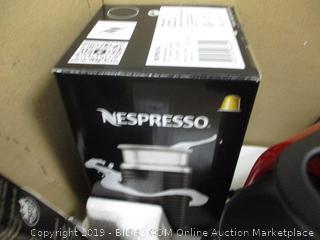 Nespresso Essenza Mini & Aeroccino3 - Powers On
