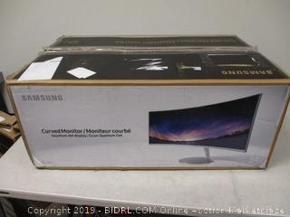 Samsung Curbed Monitor 34