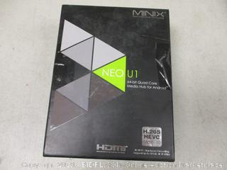 Minix 64-Bit Quad Core Media Hub