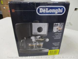 DeLonghi Espresso Machine - Powers On