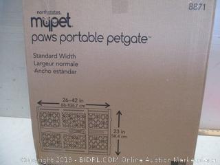 Paws Portable Petgate