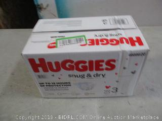 Huggies Diapers - Sz 3