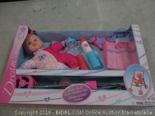 Doll and Stroller