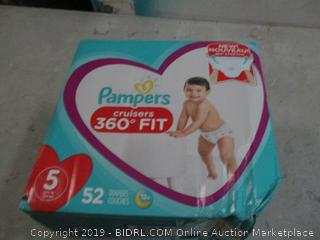 Pampers Diapers - Sz 5