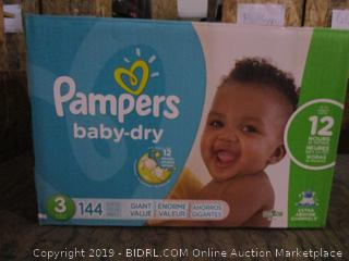 Pampers Diapers - Sz 3