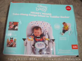Mickey Mouse Take along Songs Infant to Toddler Rocker