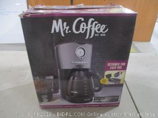 Mr Coffee Maker Powers On