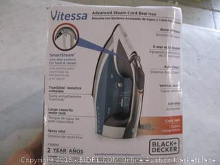 Black + decker Iron Powers on