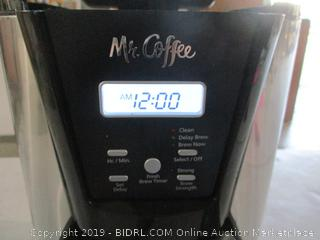 Mr Coffee Maker Powers On