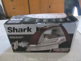 Shark Iron Powers On