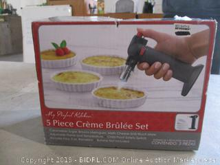 Creme Brulee Set/ Incomplete Set See Pictures Plates Only