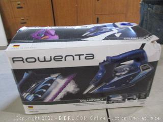 Rowenta Iron Powers on