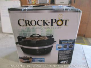 Crock Pot Powers On