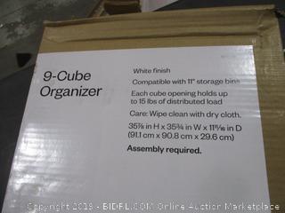 6 Cube Organizer