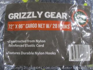 Grizzly Gear Cargo Net with hooks