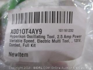 Multifunctional Power Tool Powers On