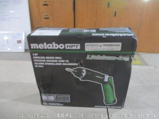 Metabo Cordless driver drill Powers On