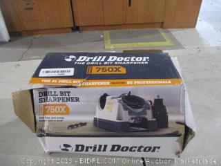 Drill Bit Sharpener  Powers On